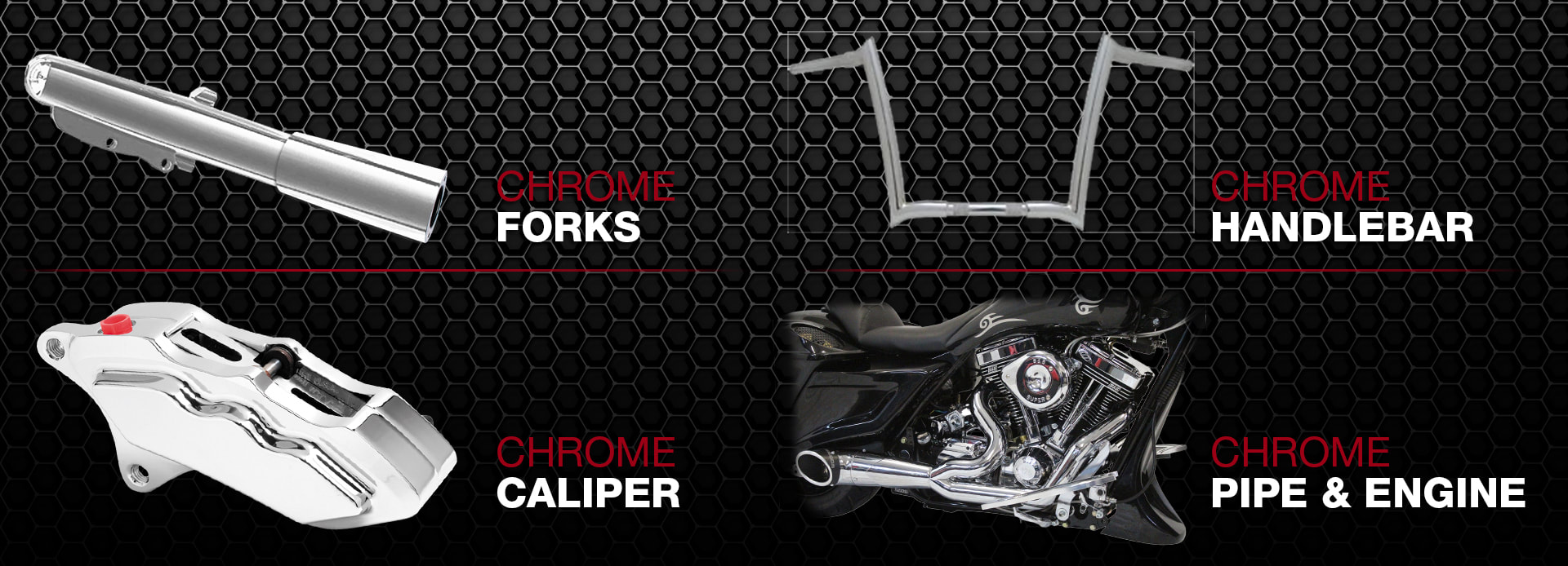Havoc Motorcycles custom bagger options